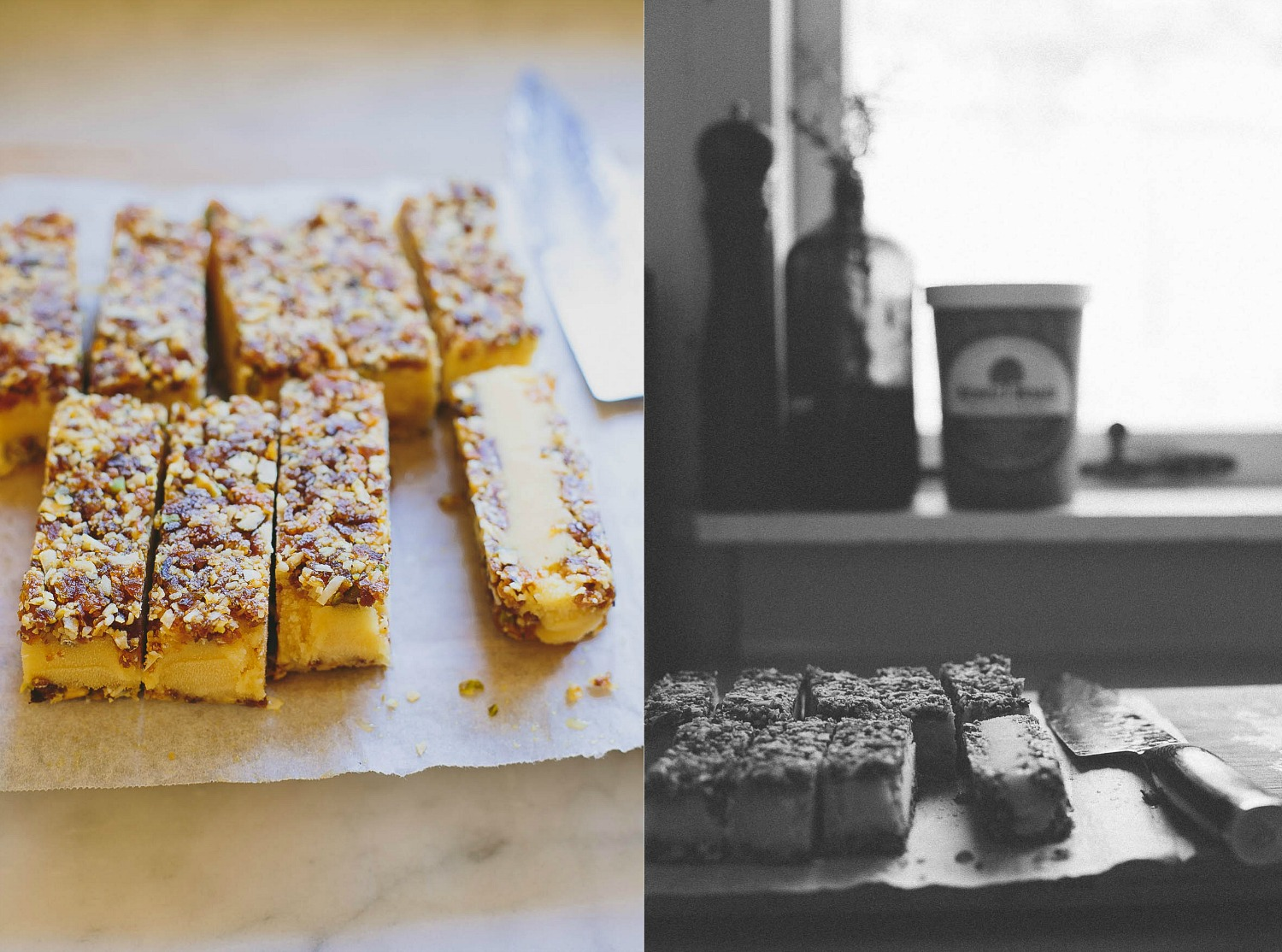 Apricot, pistachio + passionfruit ice cream bars | My Darling Lemon Thyme