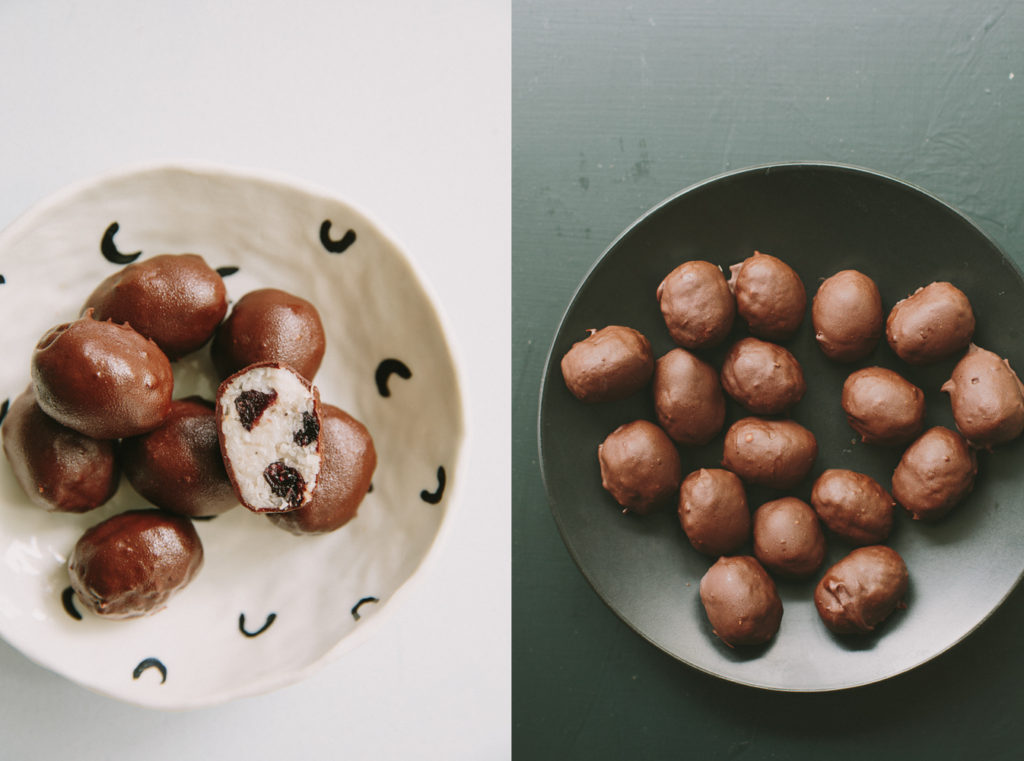 Blueberry + coconut chocolate eggs | My Darling Lemon Thyme